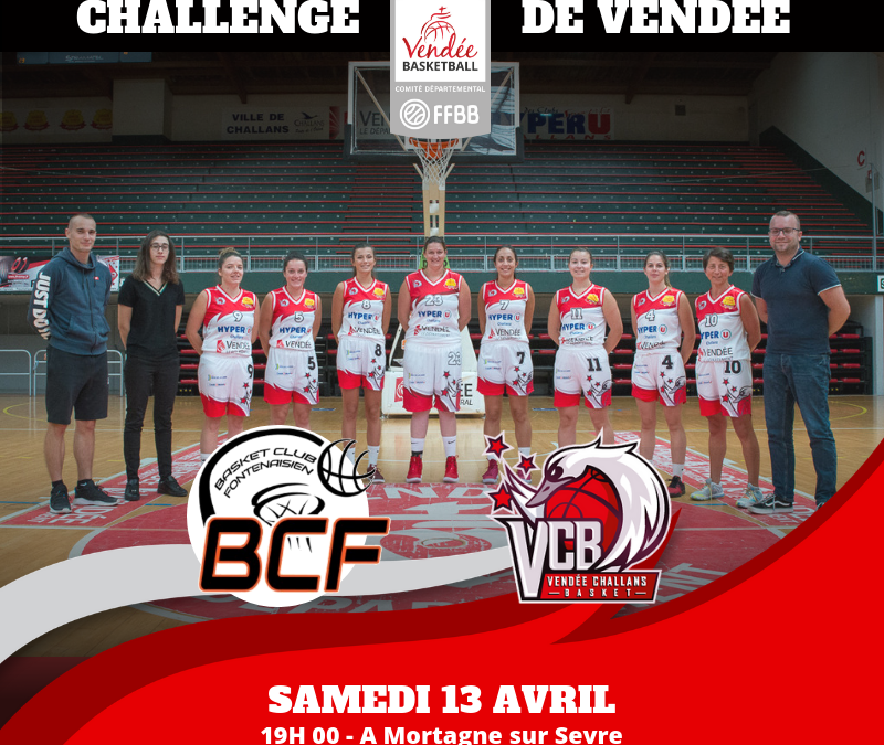 1/4 de finale du Challenge féminin de Vendée