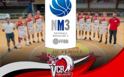 La saison 2019/2020 se prépare également du coté de l'équipe NM3