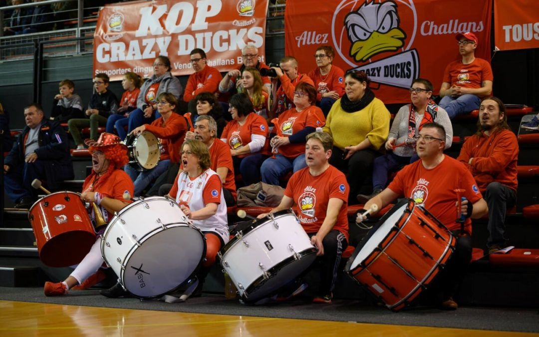 Supporters du Vendée Challans Basket