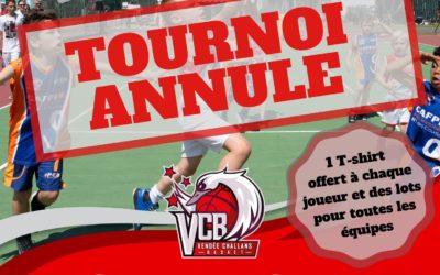 Tournoi Gaëtan ROUX 2020 ANNULE!