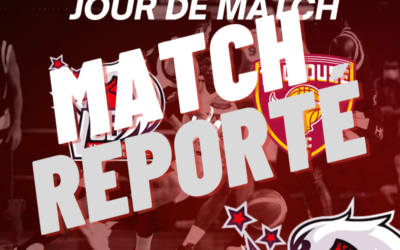 VCB / Toulouse – Match annulé